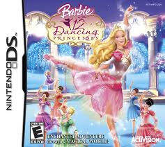 Barbie 12 Dancing Princesses DS Używana (KW)