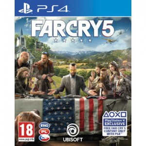 Far Cry 5 ENG PS4 Używana nh