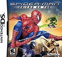 Spider Man Friend or Foe DS Używana nh