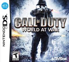 Call of Duty World at War DS Używana nh
