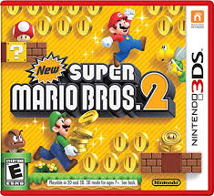 New Super Mario Bros 2 3DS Używana nh