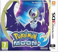 Pokemon Moon 3DS Używana nh