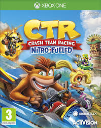 Crash Team Racing Nitro Fueled XONE Używana nh