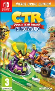 Crash Team Racing Nitro Fueled Switch używana (KW)