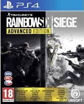 Tom Clancy's Rainbow Six Siege Advanced Edition PS4 Nowa nh