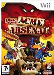 Looney Tunes Acme Arsenal Wii Używana nh