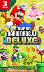 New Super Mario Bros U Deluxe SWITCH Używana nh