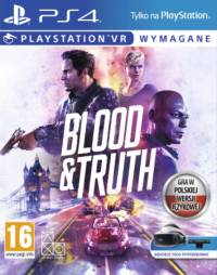 Blood & Truth ps4 Używana (KW)