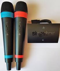 2 mikrofony singstar ps3