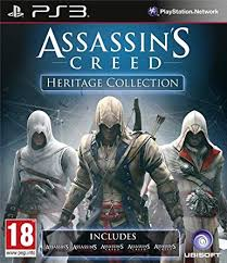 Assassins Creed: Heritage Collection ps3 używana (KW)