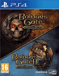Baldurs Gate 1 & 2 Enhanced Edition PS4 Nowa nh