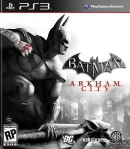 Batman Arkham City PL PS3 Używana  Steelbook(nh)