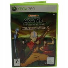 avatar the legend of aang the burning earth x360 używana (KW)