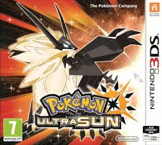 Pokemon Ultra Sun + steelbook 3DS Używana nh
