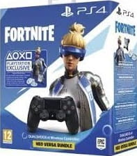 DualShock 4 V2 Czarny + Fortnite Voucher  PS4 Nowy (nh)