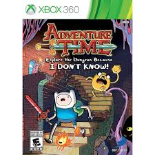 Adventure Time Explore the dungeon because i dont know! x360 używana (KW)