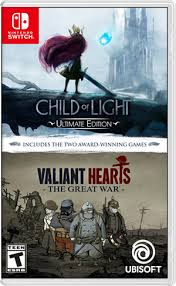 Child of Light Ultimate Edition + Valiant Hearts The Great War SWITCH używana (KW)