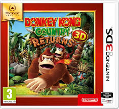 Donkey Kong Country Returns 3D  3DS Używana nh