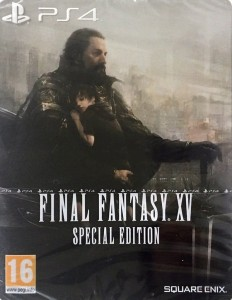 Final Fantasy XV Special Edition Steelbook Ps4 NOWA (KW)