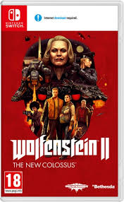 Wolfenstein II New Colossus SWITCH używana (KW)