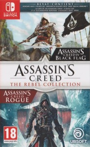 Assassin's creed Rebel collection Switch używana (KW)