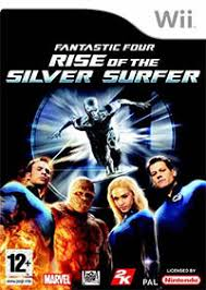 Fantastic Four Rise of the Silver Sufer WII