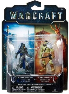 Figurka Warcraft Alliance Soldier VS Horde Warrior (KW)