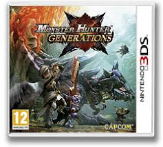 Monster Hunter Generations 3DS Nowa (KW)