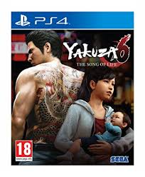 Yakuza 6 Song of Life Essence of Art Edition PS4 Używana nh