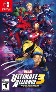 Marvel Ultimate Alliance 3 The Black Order SWITCH  Używana nh