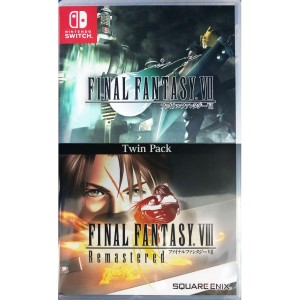 Final Fantasy VII & Final fantasy VIII remastered twin pack Switch NOWA (KW)