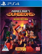 Minecraft Dungeons Hero Edition PS4 Używana nh