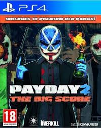 PayDay 2 The Big Score PS4 Używana nh