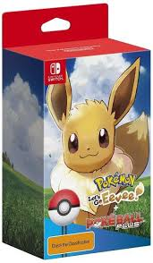 Pokemon Let's Go Eevee Pokeball Edition SWITCH (KW)