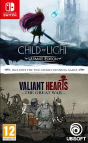 Child of Light Ultimate Edition + Valiant Hearts the Great War SWITCH Nowa nh