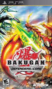 Bakugan: Defenders of the Core PSP Używana (nh)