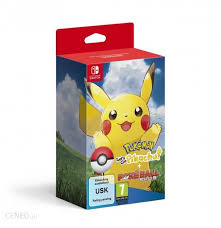 Pokemon Let's Go Pikachu Pokeball Edition SWITCH (KW)