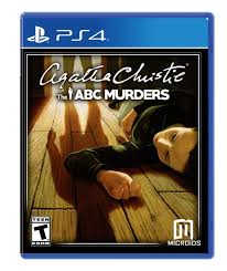 Agatha Christie the ABC Murders PS4 Używana (nh)