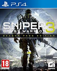 Sniper Ghost Warrior 3 Edycja Season Pass PS4 Nowa (nh)