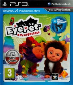 EyePet & friends PS3 Nowa (nh)