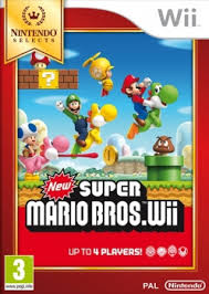 New Super Mario Bros select WII
