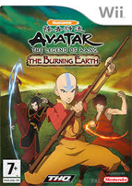 Avatar The Burning Earth WII