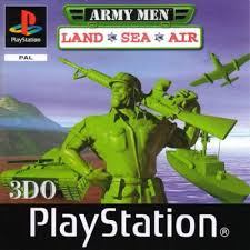 Army Men Land Sea Air PS1 (KW)