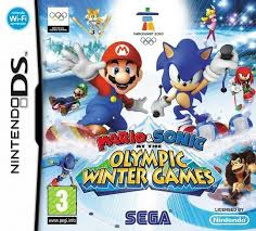 Mario & Sonic at the Olympic Winter Games (okładka DE) DS Używana nh