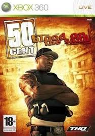 50 Cent Blood On The Sand X360 Używana (nh)