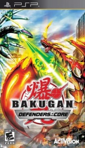 Bakugan Battle Brawlers Defenders Of The Core PSP Używana (KW)