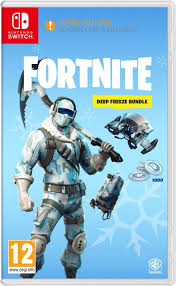 Fortnite Deep Freeze Bundle (download code!) SWITCH (KW)