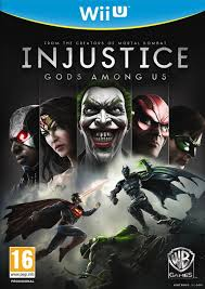 Injustice Gods Amongs Us WIIU używana (KW)