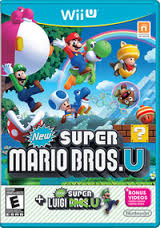 New Super Mario Bros U + New Super Luigi U  WiiU Używana (nh)