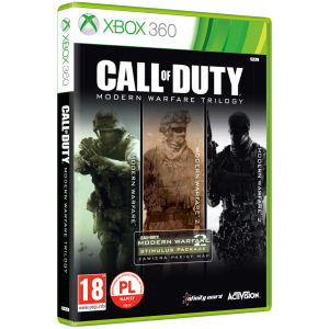 Call of Duty Trylogia Modern Warfare X360 Używana nh